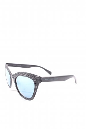 Marc by Marc Jacobs ovale Sonnenbrille schwarz Street-Fashion-Look