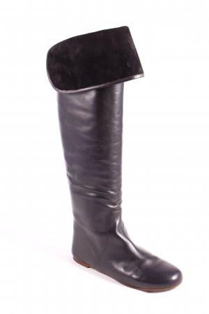 Marc by Marc Jacobs Black Overknee Boots