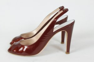 Marc by Marc Jacobs Peep Toes Gr. 39 rot