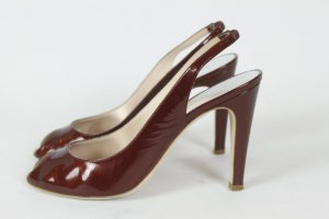 Marc by Marc Jacobs Peep Toes Gr. 39 rot (R/E)