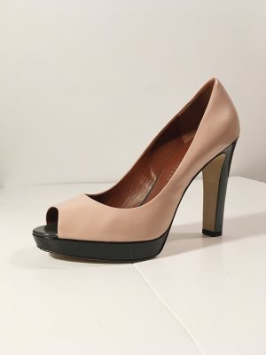 Marc by Marc Jacobs Peep Toe Pumps rosé-antraciet