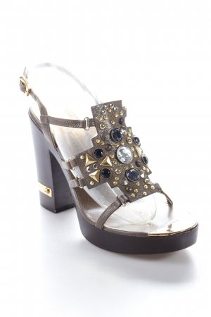Marc by Marc Jacobs Platform High-Heeled Sandal multicolored Metal elements