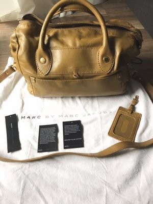 Marc by Marc Jacobs Bowling Bag olive green leather