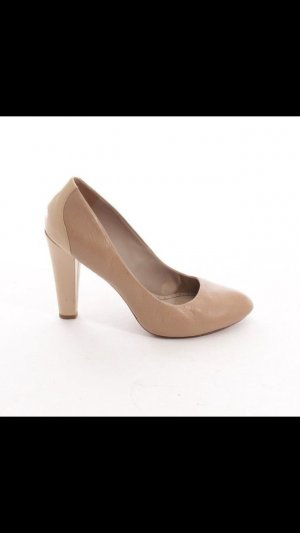 Marc by Marc Jacobs Pumps, Gr. D 39, Beige, Shoes High Heels, Lackleder