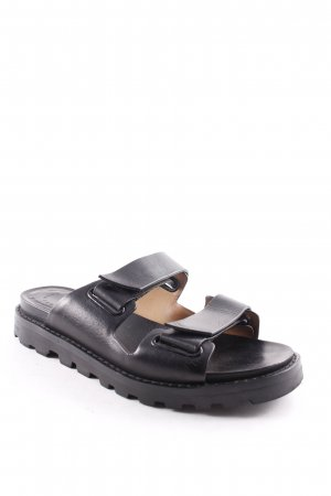 Marc by Marc Jacobs Riemchen-Sandalen schwarz Urban-Look