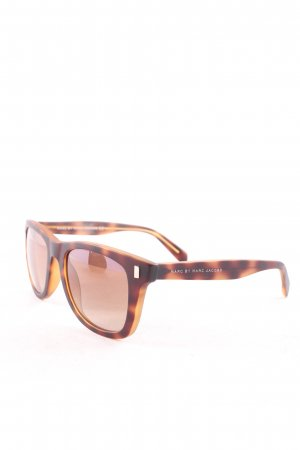 Marc by Marc Jacobs runde Sonnenbrille graubraun Farbverlauf Casual-Look