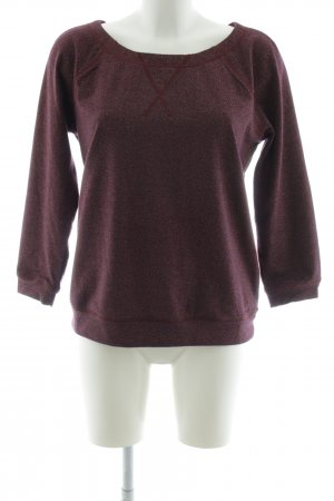 Marc by Marc Jacobs Rundhalspullover lila meliert Casual-Look