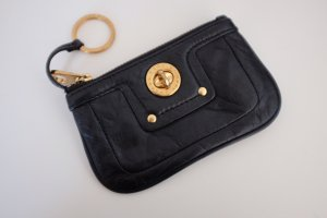 Marc by Marc Jacobs Llavero negro-color oro