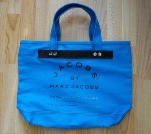 Marc by Marc Jacobs signature Shopper Canvas Tote Bag Tasche mit Reißverschluss