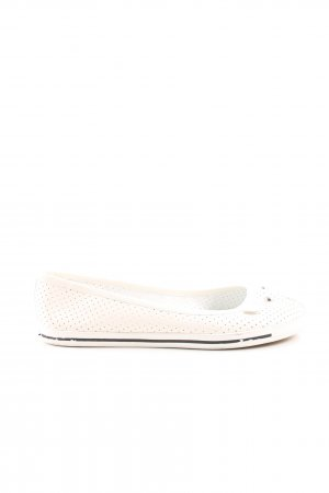 Marc by Marc Jacobs Slingback Ballerinas natural white-black casual look