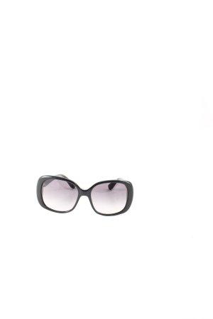 Marc by Marc Jacobs ovale Sonnenbrille schwarz Street-Fashion-Look