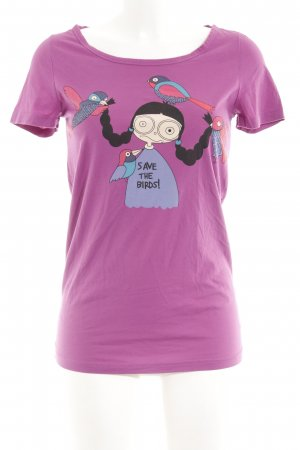 Marc by Marc Jacobs T-Shirt Motivdruck Casual-Look