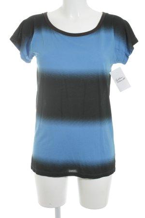 Marc by Marc Jacobs T-Shirt neonblau-schwarz minimalistischer Stil
