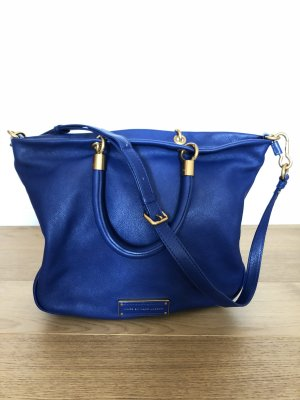 Marc by Marc Jacobs Bandolera azul-color oro