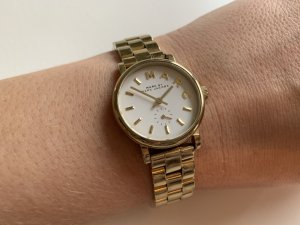 Marc by Marc Jacobs Watch With Metal Strap white-gold-colored