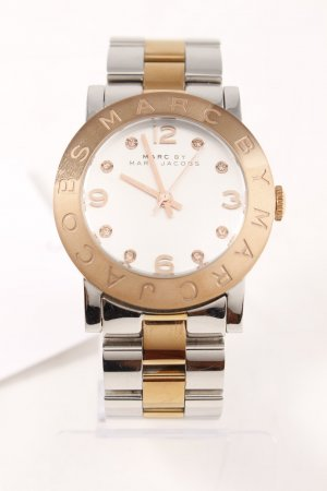 Marc by Marc Jacobs Watch With Metal Strap silver-colored-rose-gold-coloured