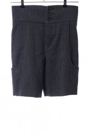 Marc by Marc Jacobs Woolen Trousers light grey-blue striped pattern casual look