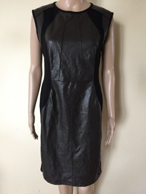 Marc Cain Leather Dress black