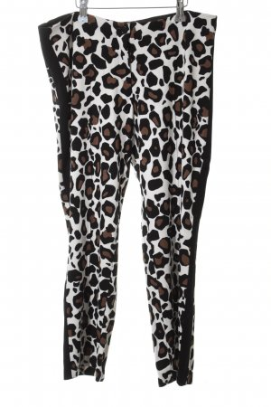 Marc Cain 3/4 Length Trousers allover print extravagant style
