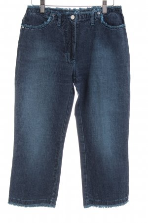 Marc Cain 3/4-jeans blauw casual uitstraling