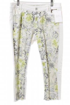 Marc Cain 3/4 Jeans Blumenmuster Beach-Look