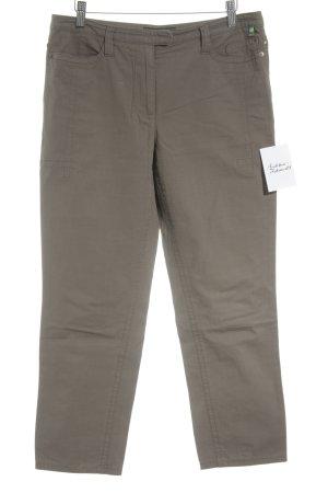 Marc Cain 7/8-broek olijfgroen simpele stijl
