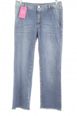 Marc Cain 7/8 Jeans neonblau Casual-Look