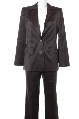 Marc Cain Suit Trouser dark brown business style