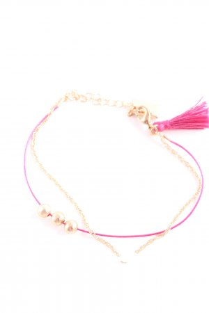 Marc Cain Armband pink-goldfarben Business-Look