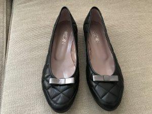 Marc cain Ballerinas Flats schwarz 41 Slipper Loafer neuwertig