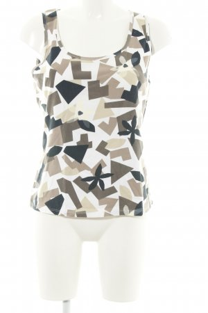 Marc Cain Basic Top grafisches Muster Casual-Look