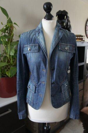 MARC CAIN Blazer Größe 1 34/36 Jeansjacke