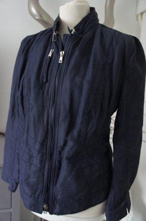 MARC CAIN Blazer Größe 40 N5 blau