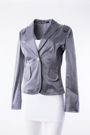 MARC CAIN - Blazer Metallic Silber