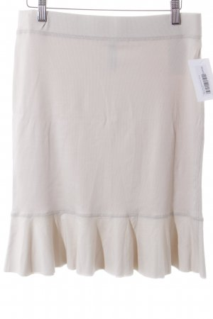 Marc Cain Bleistiftrock creme Casual-Look