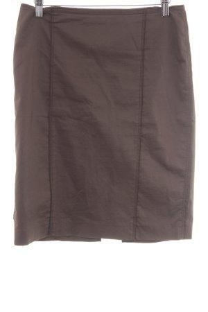 Marc Cain Gonna a tubino marrone-grigio stile casual