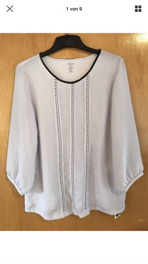Marc Cain Transparante blouse paars