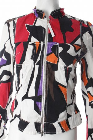 Marc Cain Blouse Jacket abstract print street-fashion look