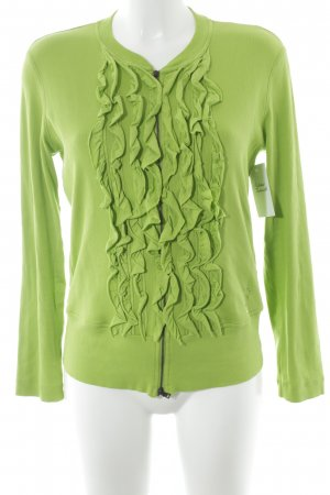 Marc Cain Giacca a blusa verde prato stile casual