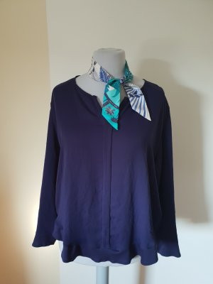 Marc Cain Blouse donkerblauw