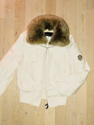 Marc Cain Bomber Jacket natural white pelt