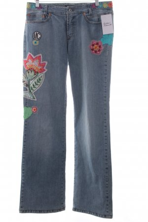 Marc Cain Boot Cut Jeans blau Casual-Look