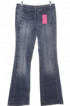 Marc Cain Boot Cut Jeans blau Jeans-Optik