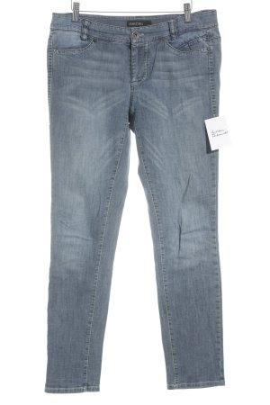 Marc Cain Boot Cut Jeans graublau schlichter Stil