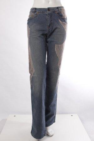 Marc Cain Boot Cut-Jeans mit Spitze
