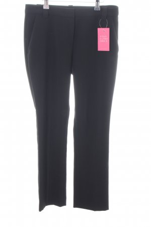 Marc Cain Bundfaltenhose schwarz Business-Look