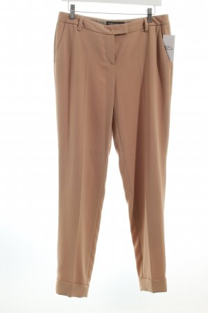 Marc Cain Bundfaltenhose camel Business-Look