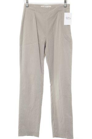 Marc Cain Pantalone a pieghe grigio chiaro stile casual