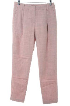 Marc Cain Pantalon à pinces rose-mauve moucheté élégant