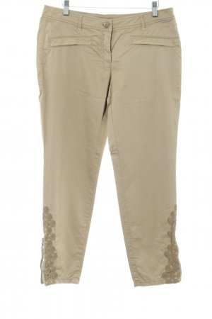 Marc Cain Capris gold-colored casual look